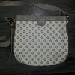 Fossil Leather Crossbody Bag/Purse